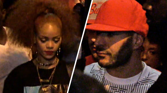 Rihanna and Karim Benzema getting serious?