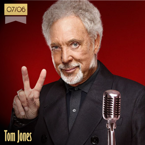 7 de junio | Tom Jones - @RealSirTomJones | Info + vídeos