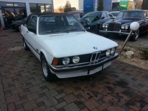 Baurspotting Ebay Germany 1980 BMW 320 E21 Baur Convertible
