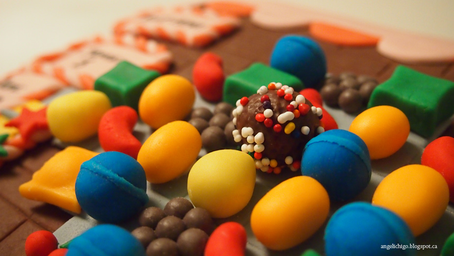 Are You Addicted? {Candy Crush Birthday Cake}