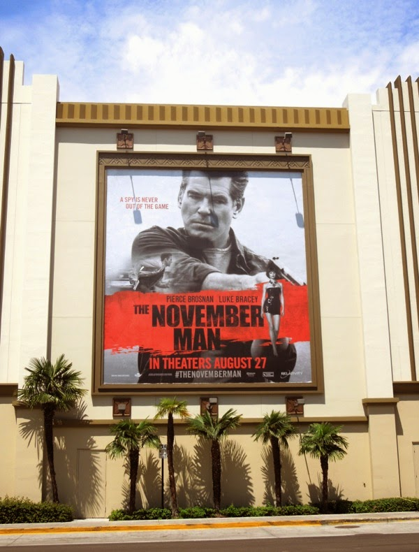 November Man film billboard
