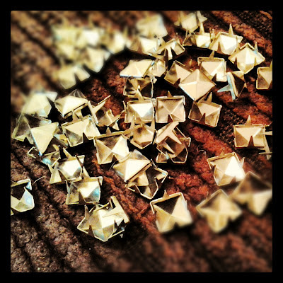 pyramid shaped studs