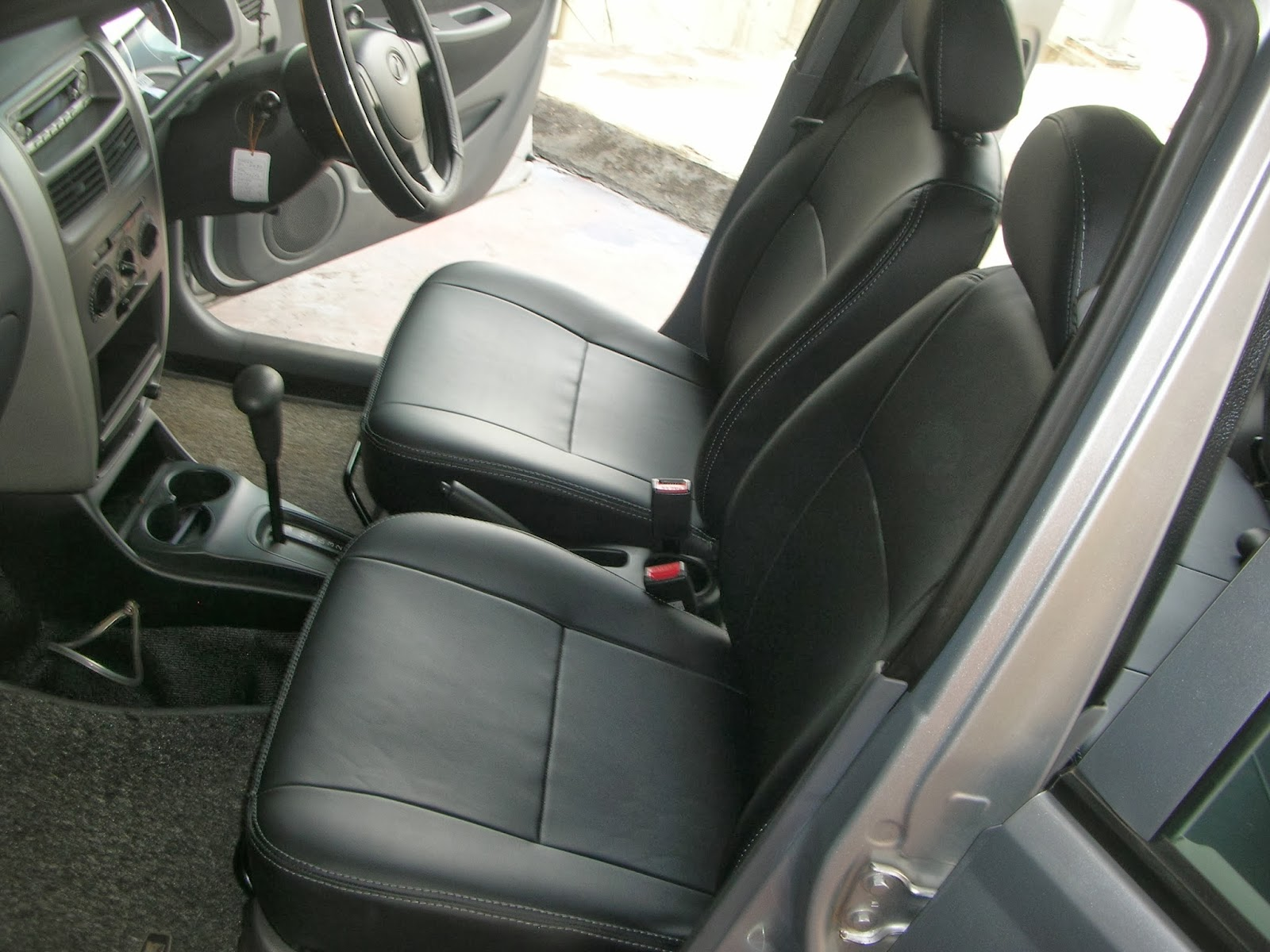viva elite leather seat covers single tone colour vip car interiors srilanka. Black Bedroom Furniture Sets. Home Design Ideas