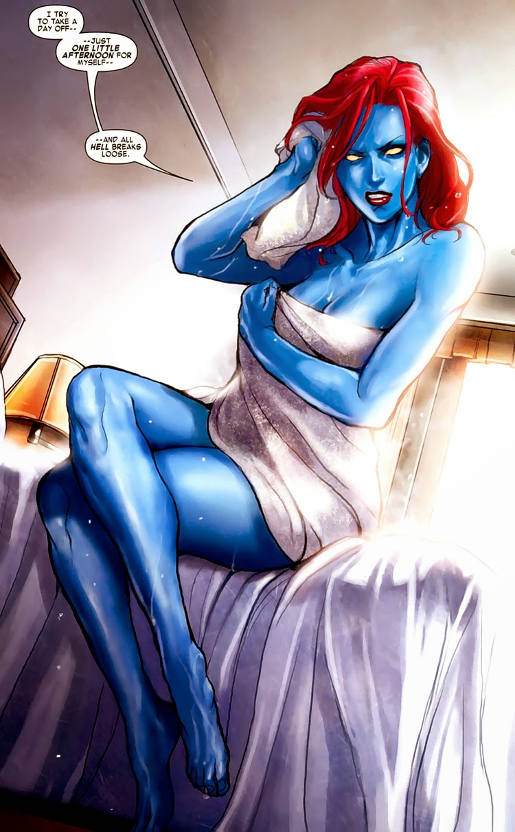 Blog of Awesome: Mystique Mistake