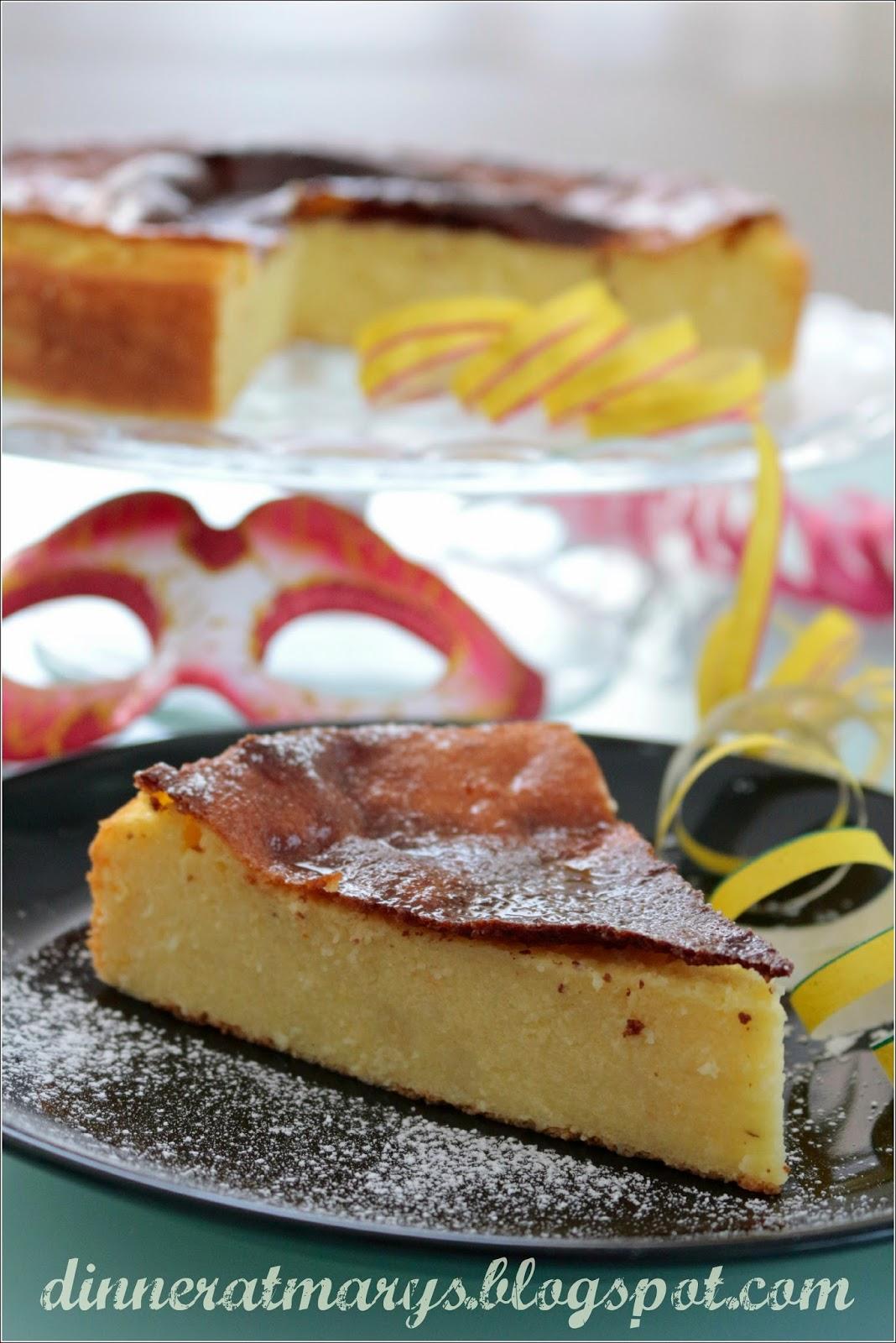 migliaccio, torta di semolino
