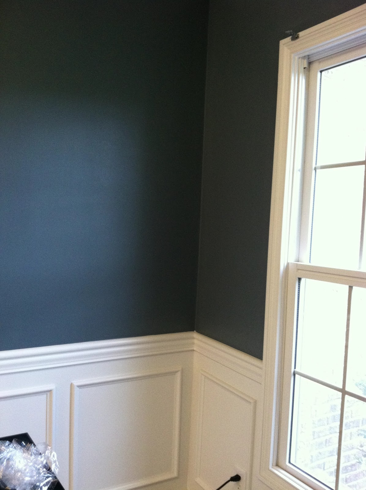 life as a losey dark blue dining room. Black Bedroom Furniture Sets. Home Design Ideas