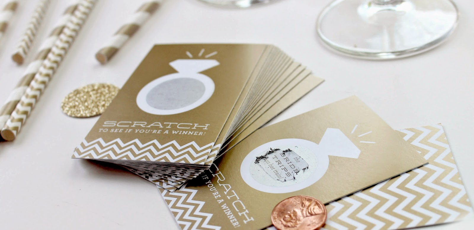 Inklings Paperie: 10 ways to enjoy scratch-off cards at a bridal or ...