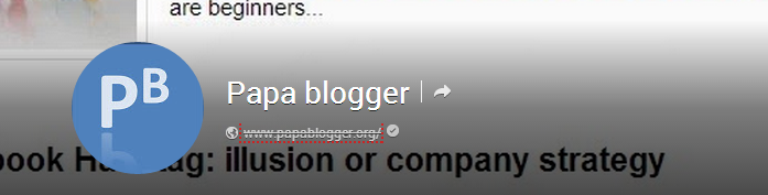 Papa Blogger Domain Verification