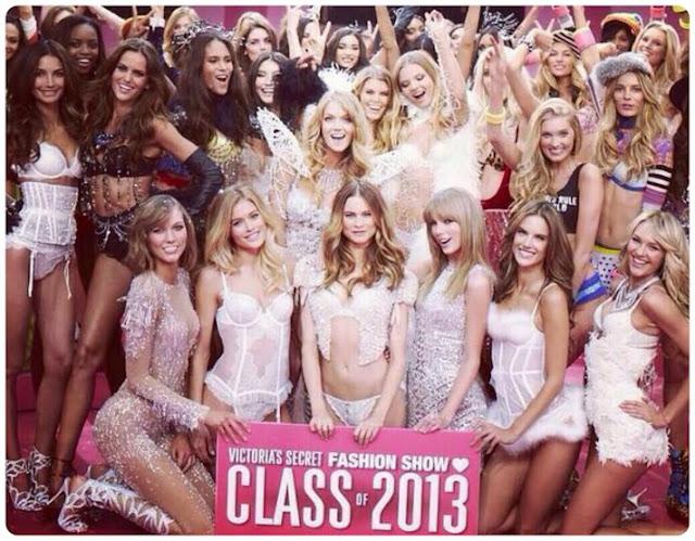 Angeles del desfile de Victoria's Secret 2013 y Taylor Swift - Fashion Show