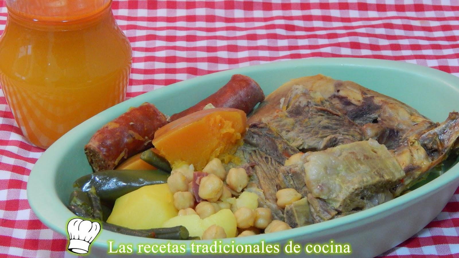 Recetas De Cocina Andaluza Tradicional | Como Hacer Cocido O Puchero Andaluz Recetas De Cocina Con Sabor