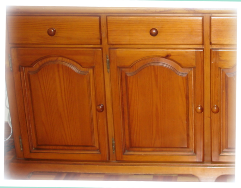 Modernizar muebles pino - Como pintar muebles de pino ...