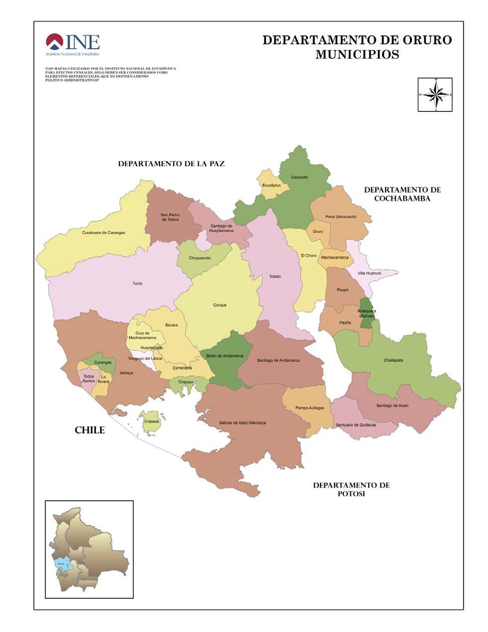 Municipios orureños
