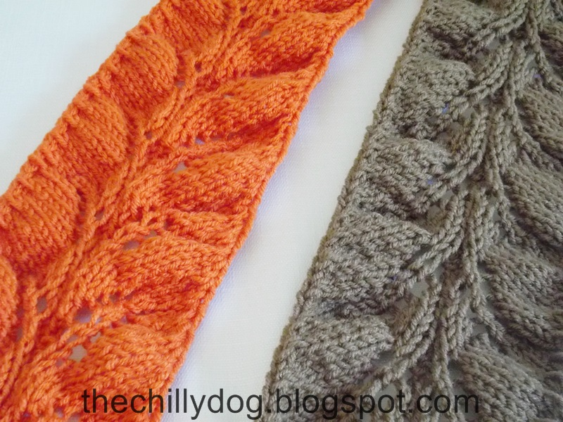 Striped Afghan Knitting Pattern : Expect Excellence - Striped Knit Afghan The Chilly Dog