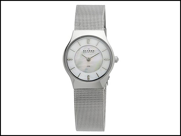 Skagen-Women's-233XSSS-Stainless-Steel-Watch