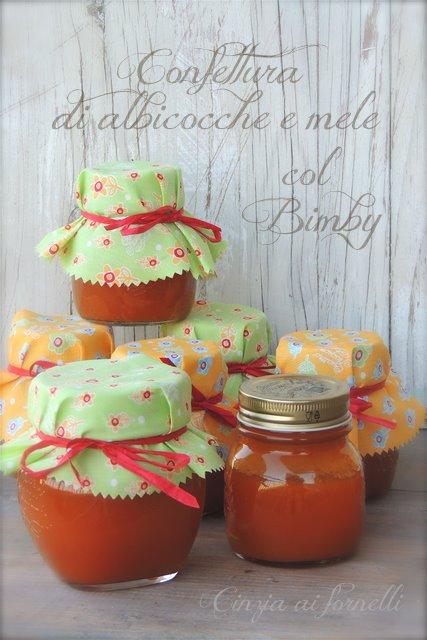 marmellata di albicocche e mele bimby