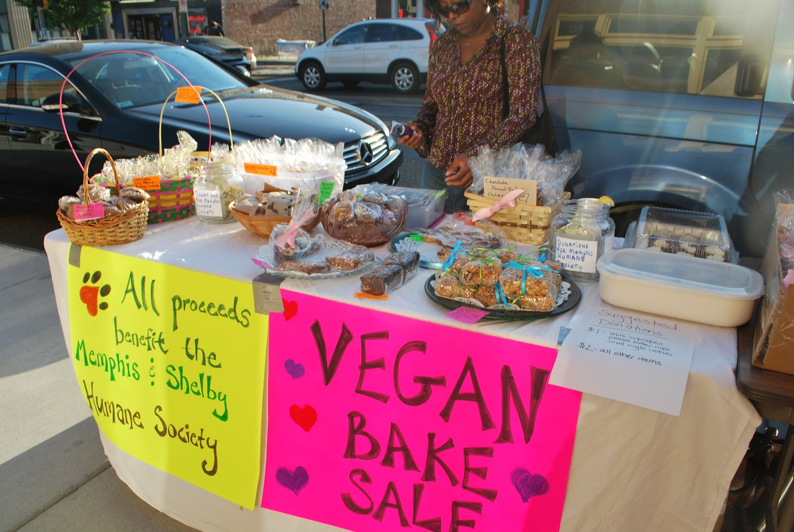 "bake sale account ""but for me, growing up in southern california, i went to bake sales""  an eye out  for ongoing bake sales through her new instagram account,."