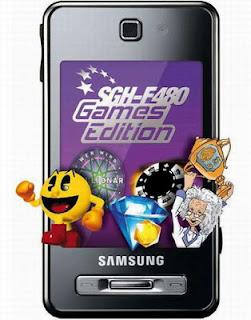 Samsung F480 Games Edition.
