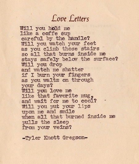 beautiful love letters him