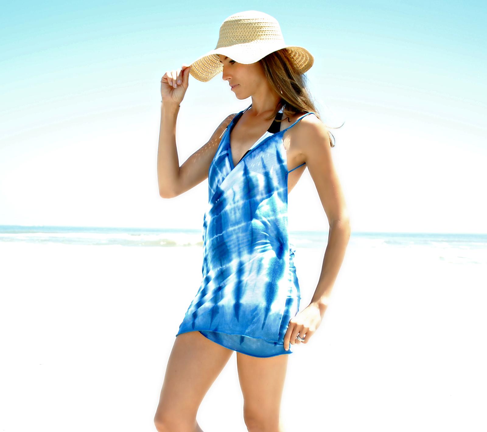 Trash To Couture: DIY Beach Dress