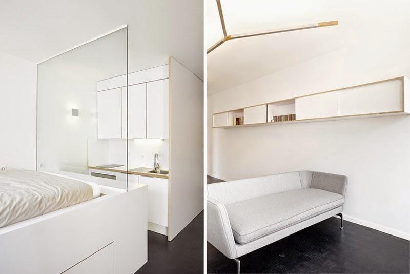Apartamento de 35 metros cuadrados renovado