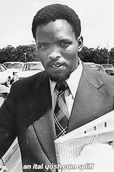 steve biko With ntsiki biko, samora biko, robert birley, dick clark coverage of the  immediate aftermath of the death of anti-apartheid activist steve biko while in the .