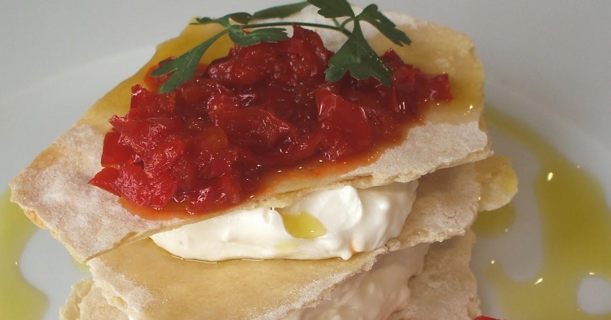Misamigoscocinan queso de cabra con mermelada de - Como hacer mermelada de pimientos ...