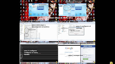 Internet gratis telcel en computadora con aplicaciones handler y banda ancha