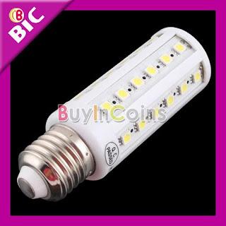New 44 LED Corn Light 11W E27 LED SMD Bulb White Lamp