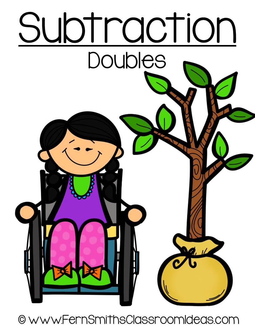 Earth Day - Subtract Doubles Center Game