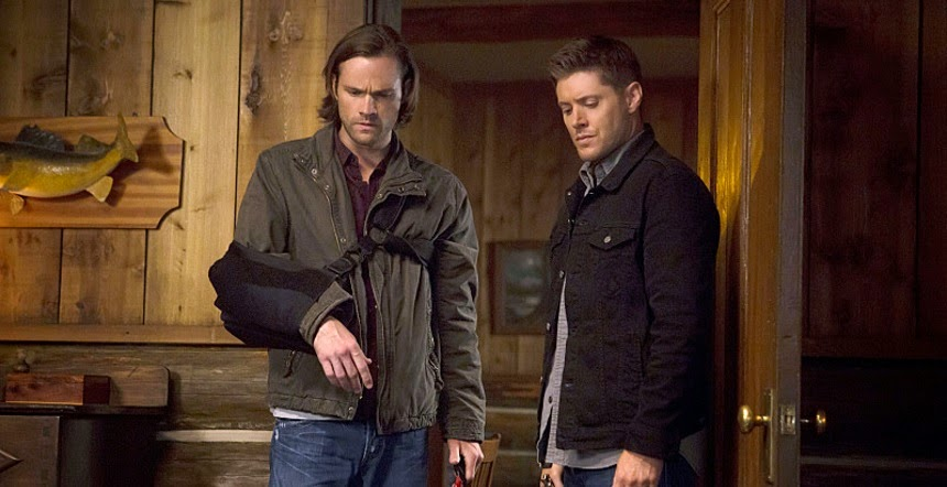 Supernatural S10E04. Sam y Dean in the room