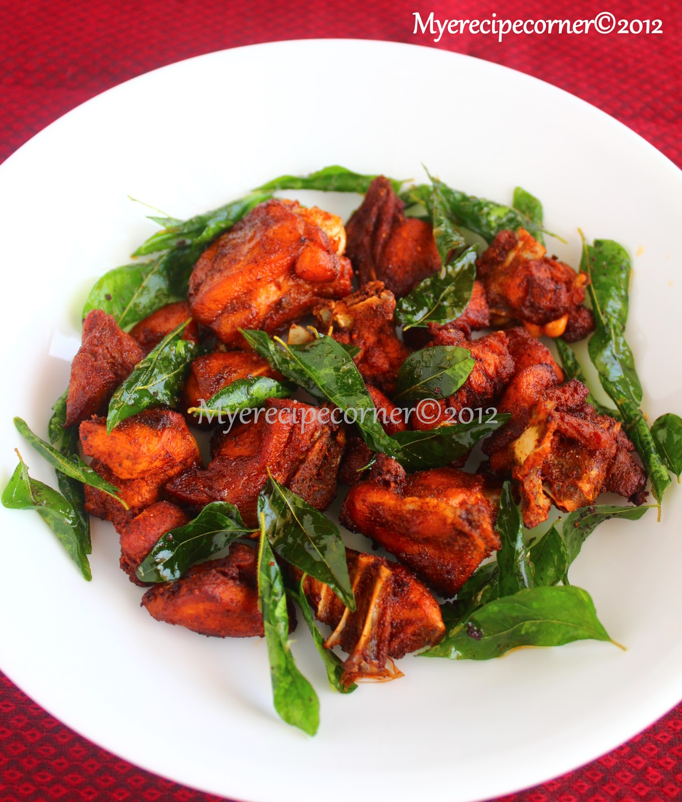 Chicken 65 masala recipe
