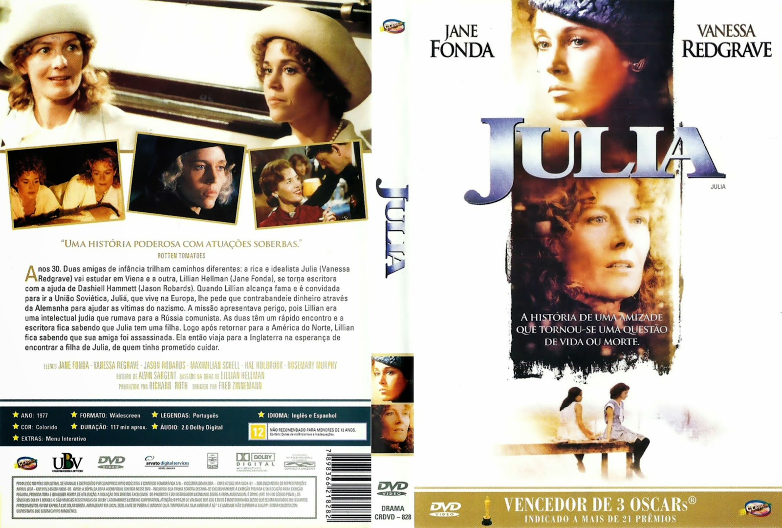 Capa DVD Julia