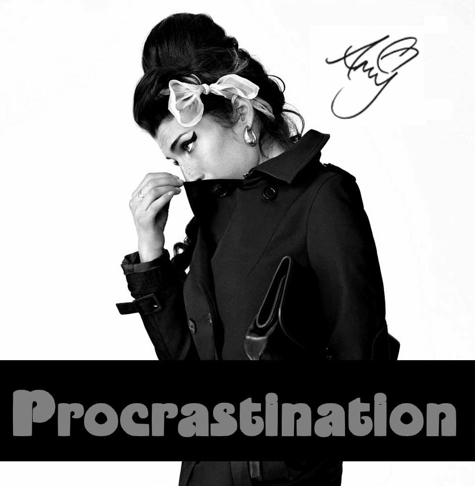 Concert Amp Live Amy Winehouse Procrastination