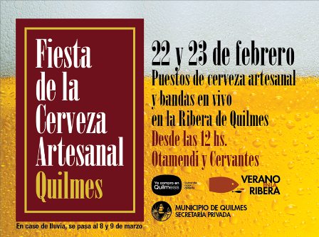 Quilmes 2014........ volvió la Fiesta de la Cerveza Artesanal.