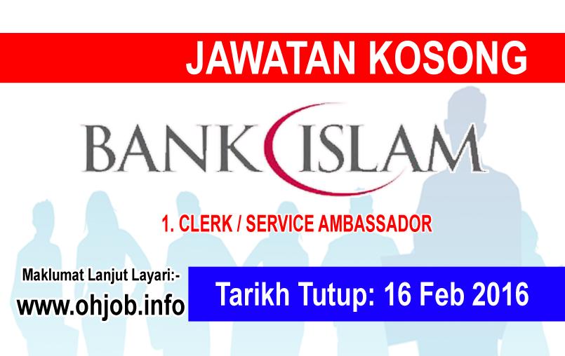 Jawatan Kerja Kosong Bank Islam logo www.ohjob.info februari 2016