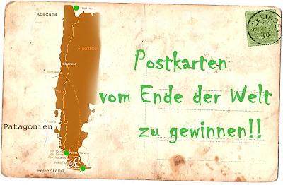 Postkarten vom Ende der Welt zu gewinnen!
