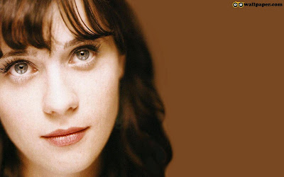 Zooey Deschanel Hot Eyes Wallpaper