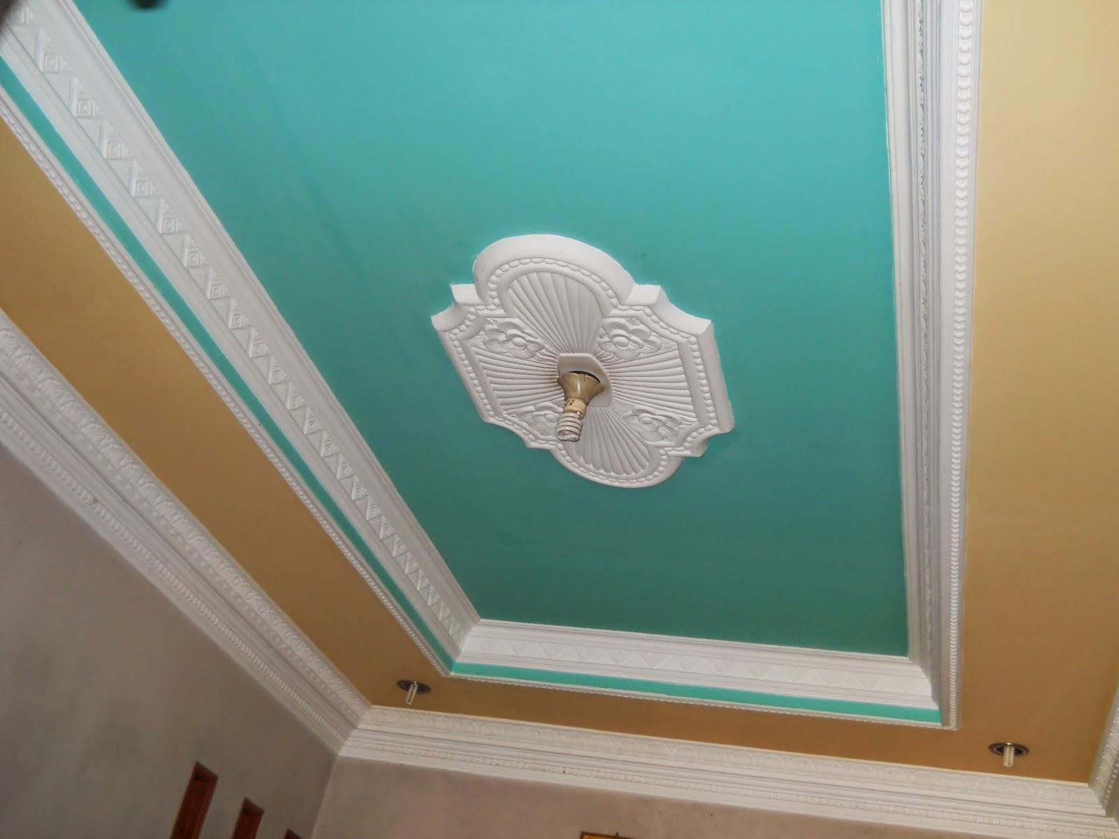 kombinasi warna cat plafon rumah yang tepat rumah