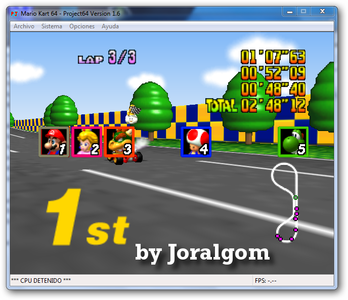 descargar juego mario kart 64: