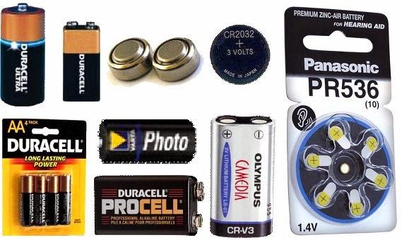 Las baterias - Tipos de pilas de boton ...