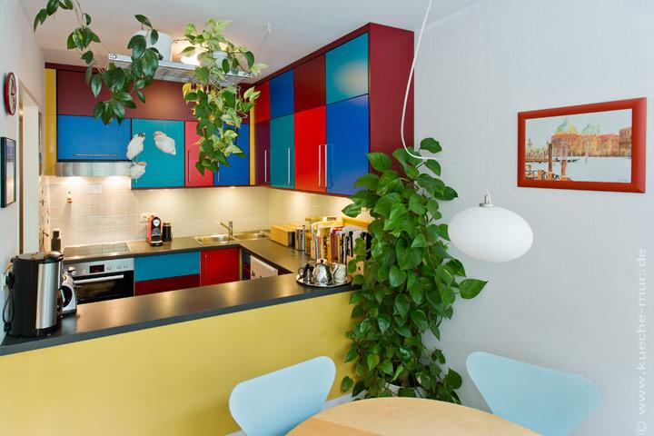 Wir renovieren Ihre Küche : Neue Farben fuer die Kueche
