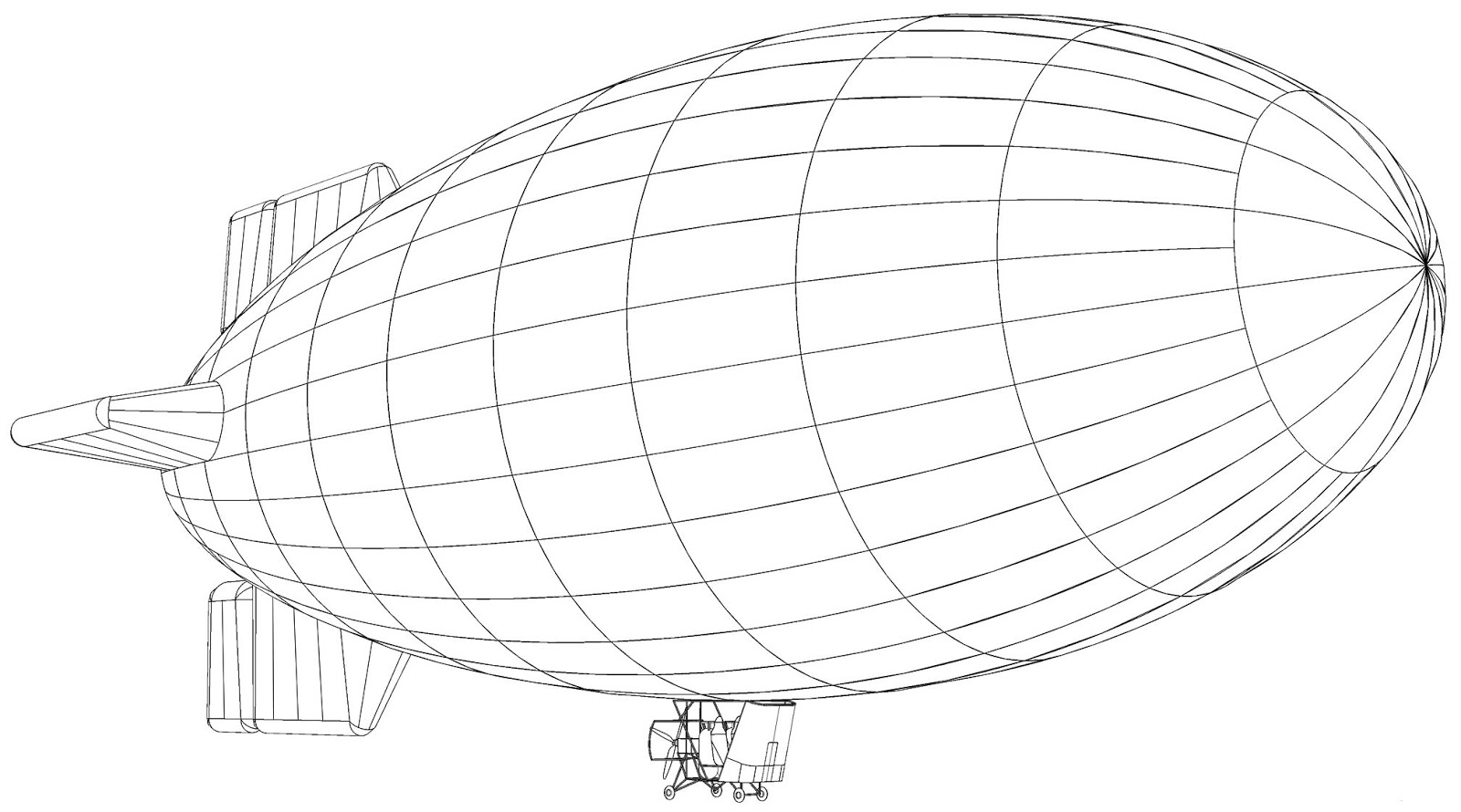 coloring transportation for toddlers air balloons coloring pages