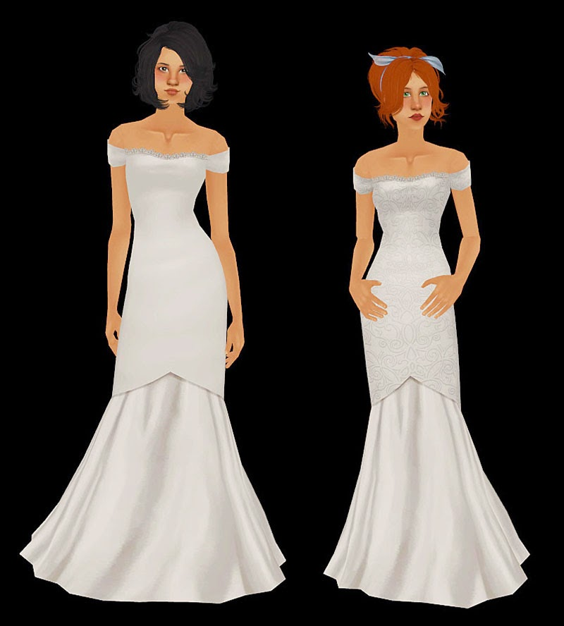 sims 2 wedding dresses
