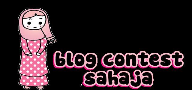 blog contest sahaja :D