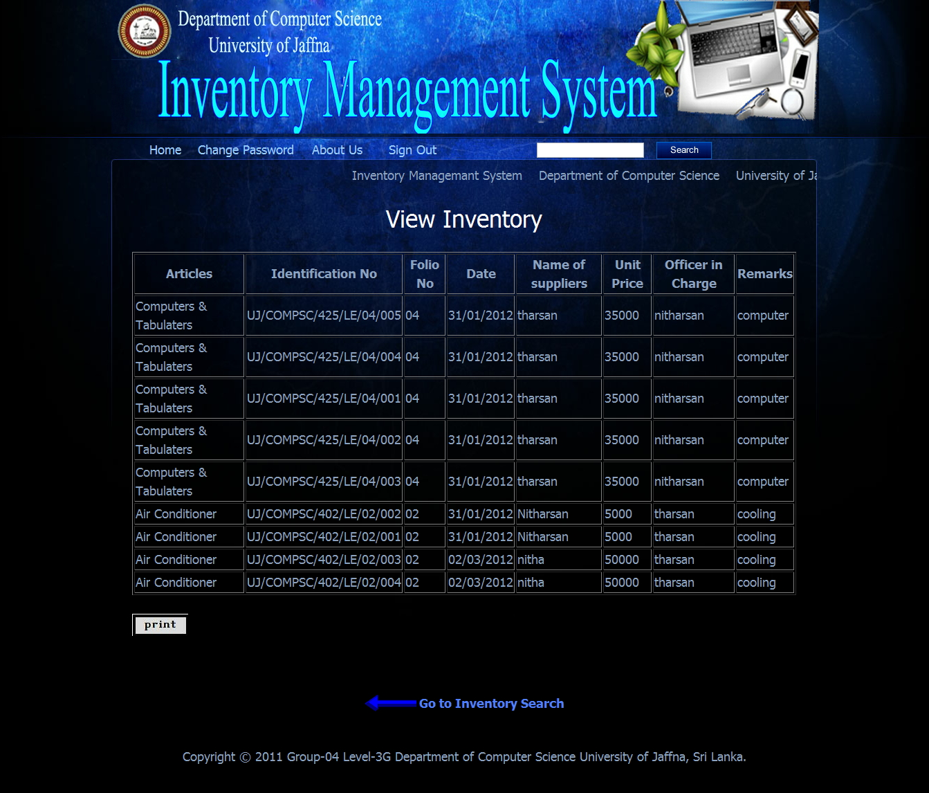 inventory management system ims Inventory management systems are designed to monitor product availability, determine purchasing schedules and cycle out obsolete or unsold product the availability of product is just one way in which an inventory management system attempts to create customer satisfaction.