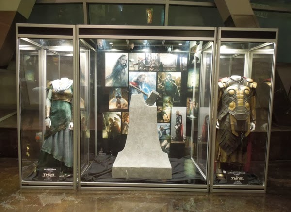Thor Dark World costume prop exhibit