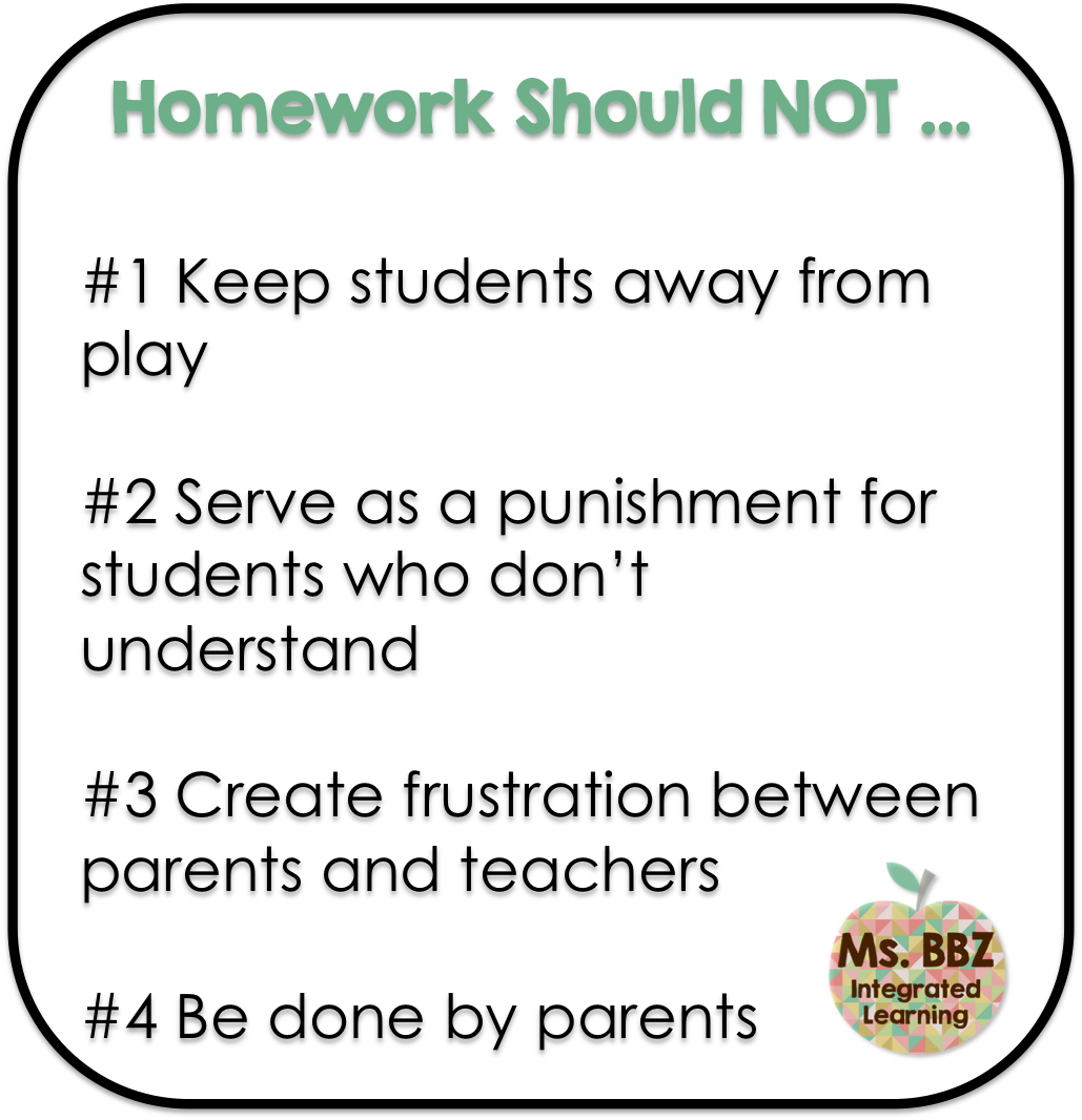 should parents help with homework essay