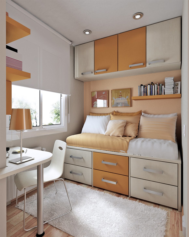 Small Bedroom Decorating Ideas For