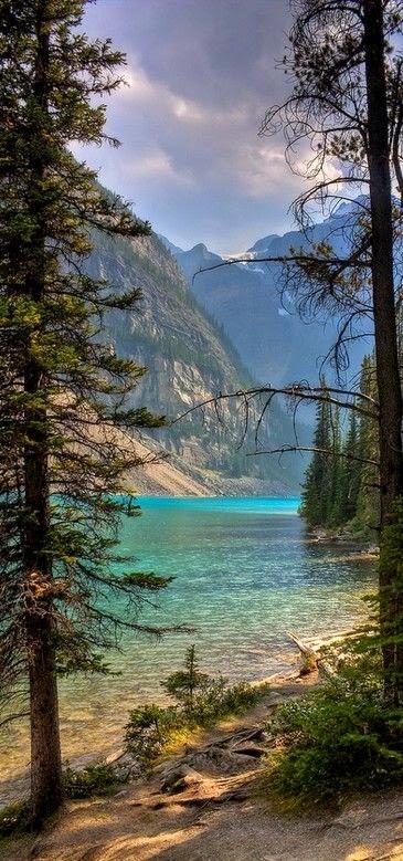 Moraine Lake in Banff National Park ~ Alberta, Canada...