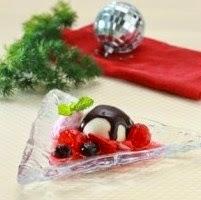 Resep Panacota Strawberry Es Krim Dan Coklat Saos